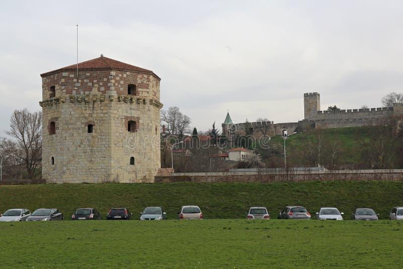 Nebojsa Fortress Belgrade stock photo