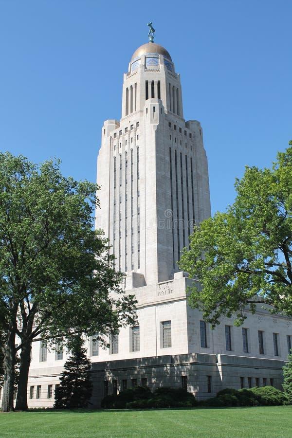 Nebraska State Capital royalty free stock photo