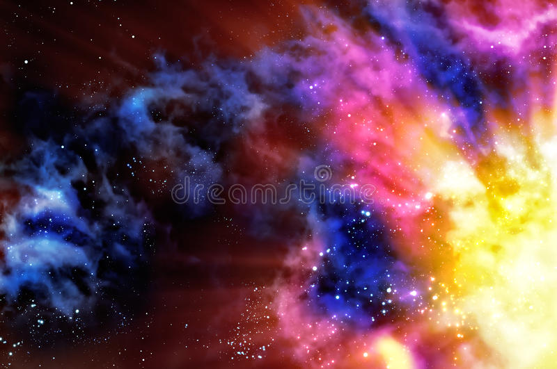 Download Nebula stock image. Image of fantasy, bunch, futuristic - 15163509