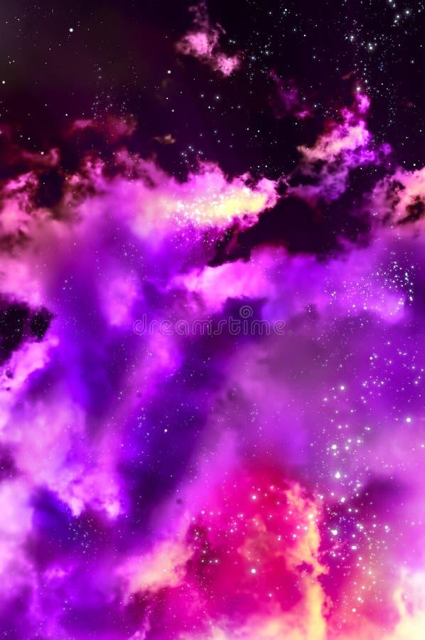 nebula royaltyfri illustrationer