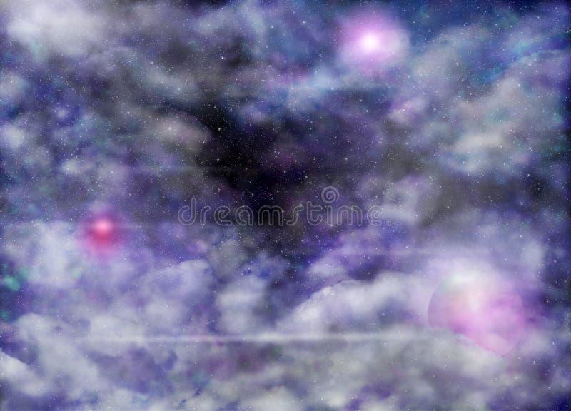 Nebula vector illustration