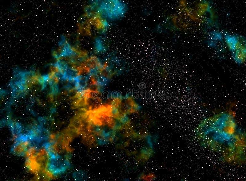 nebula стоковое изображение rf