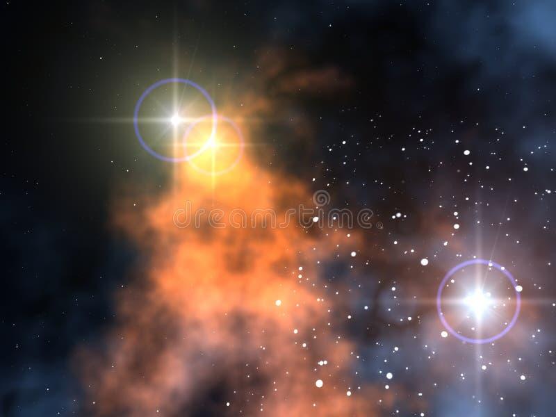 nebula arkivfoton
