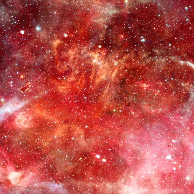 Nebula in outer space. Elements of this image furnished by NASA. Nebula, starfield, cluster of stars in outer space. Beauty of endless universe. Elements of this royalty free stock photos