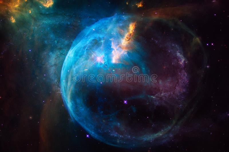 Nebula. Outer space image that is suitable for wallpaper. Elements of this image furnished by NASA stock photography