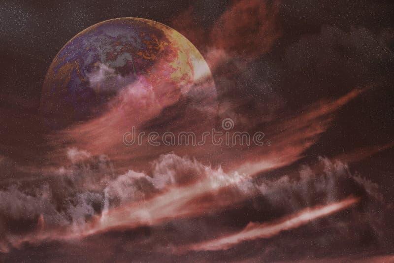 Nebulaplanetavstånd Royaltyfri Foto