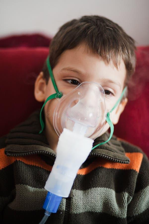 Nebuliser médico imagem de stock