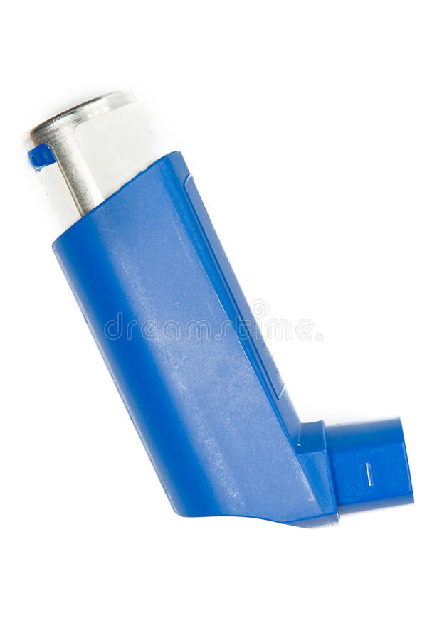 Nebulizer. Medical nebulizer on white background royalty free stock photos