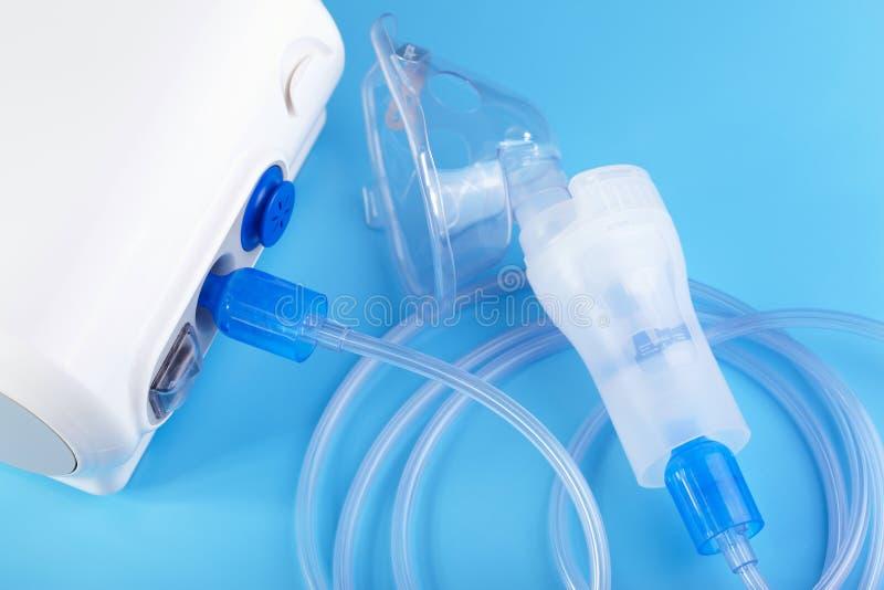 Nebulizer. Medical equipment. The compressor nebulizer stock images