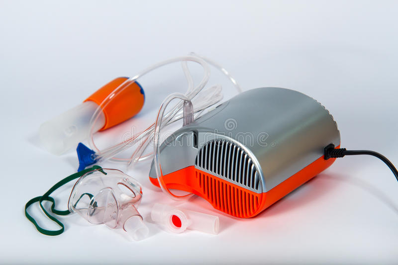 Nebulizer. For children and baby royalty free stock photography