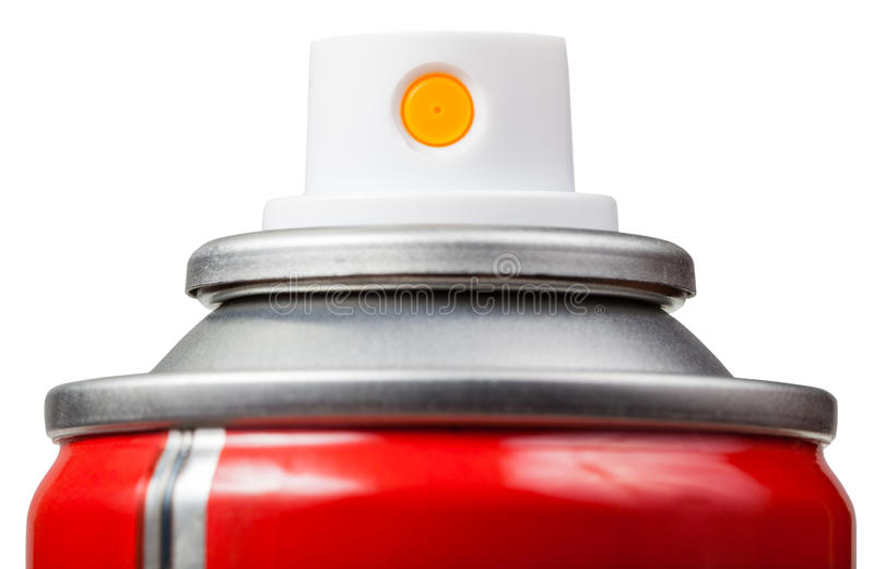 Nebulizer aerosol może zamykać w górę odosobnionego zdjęcie stock