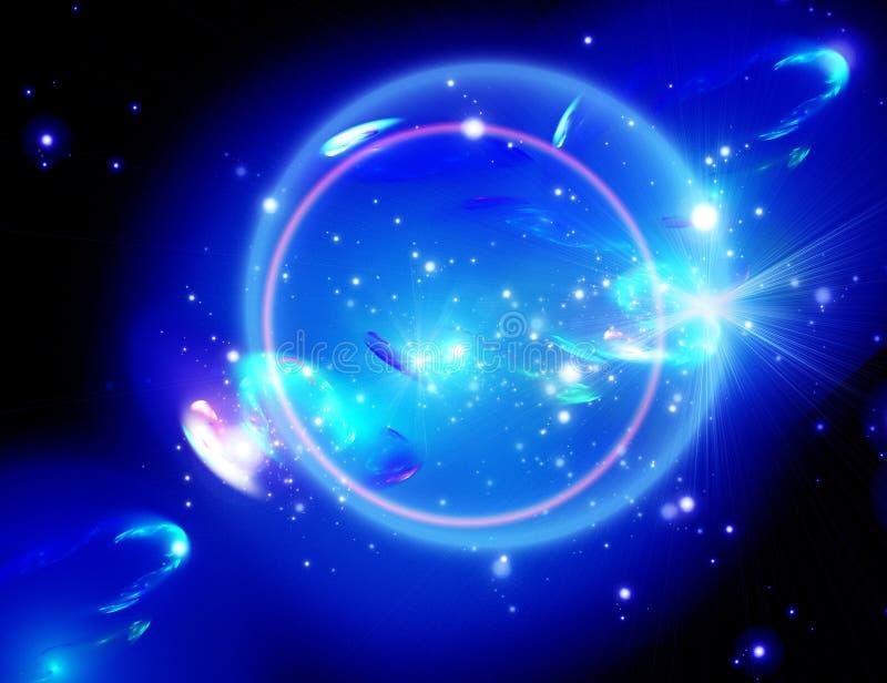 Nebulosa blu royalty illustrazione gratis