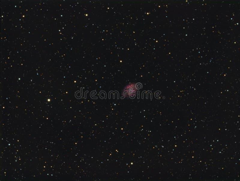 Nebulosa de caranguejo M1 fotos de stock
