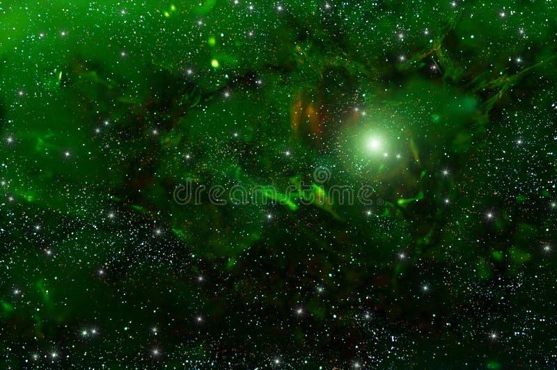 Nebulosa de la estrella del espacio profundo del universo libre illustration