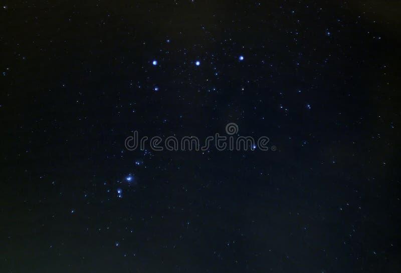 Nebulosa de Orion (M42) fotos de stock royalty free