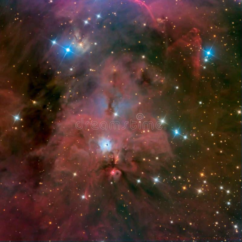 Nebulosa del ojo de la cerradura fotos de archivo libres de regalías