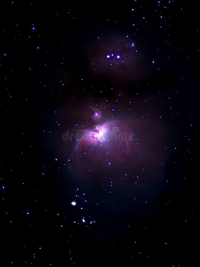 Nebulosa del Orion illustrazione di stock