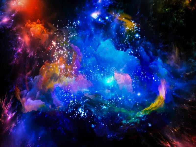 Nebulosa dello spazio illustrazione di stock