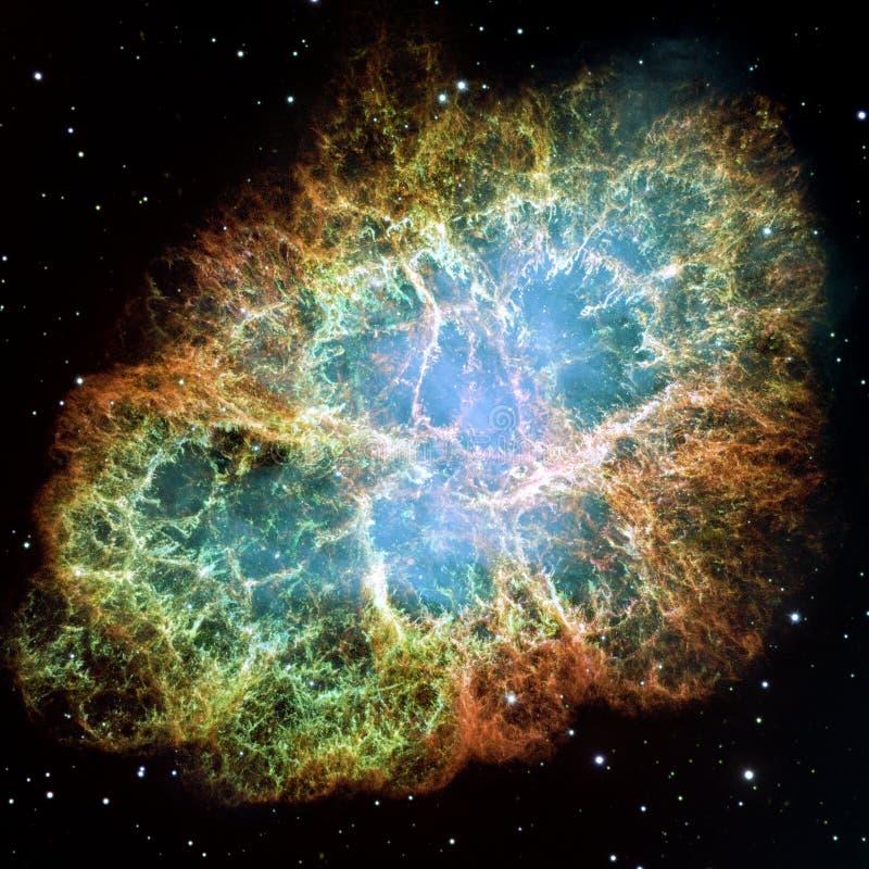 Nebulosa di granchio fotografie stock libere da diritti