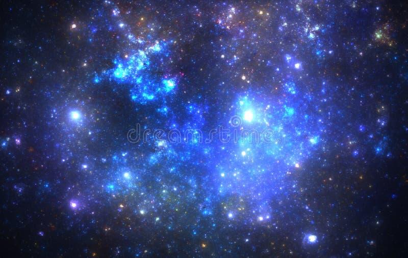 Nebulosa do espaço profundo fotografia de stock