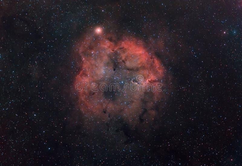 Nebulosa do hidrogênio. imagens de stock