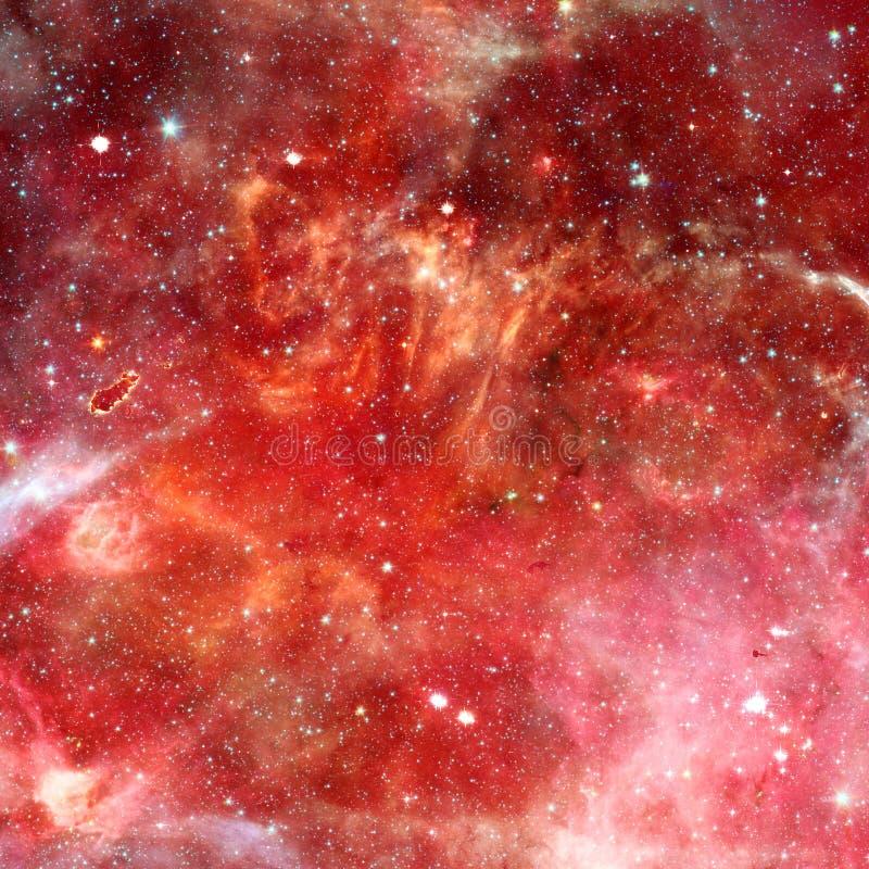 Nebulosa nello spazio cosmico Elementi di questa immagine ammobiliati dalla NASA fotografie stock libere da diritti