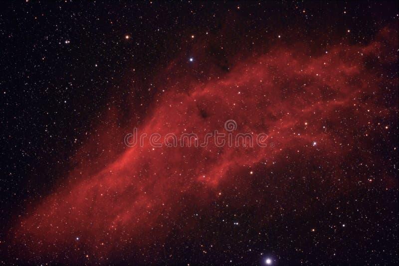 Nebulosa no espaço profundo fotos de stock
