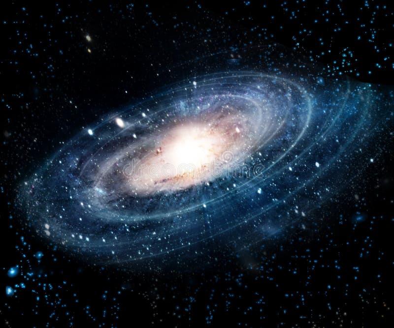 Nebulosa och galaxer i utrymme Beståndsdelar av denna avbildar möblerat av NASA arkivfoto