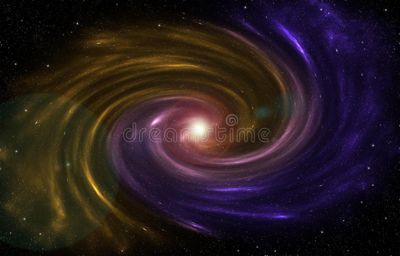 A nebulosa que forma um novo protagoniza no universo fotografia de stock