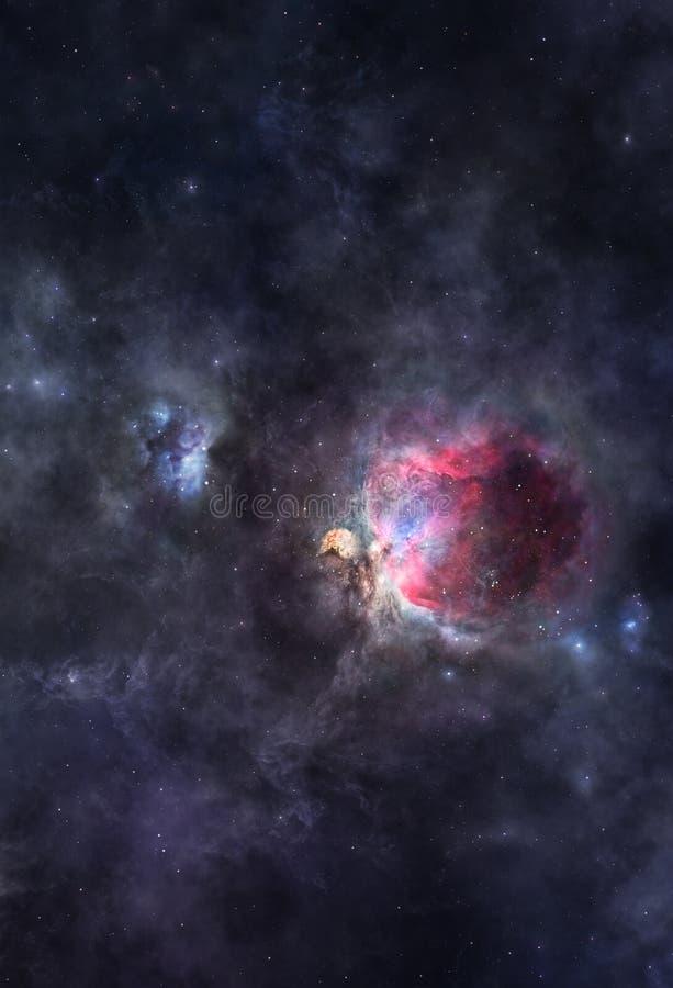 Nebulosas cósmicas ilustración del vector