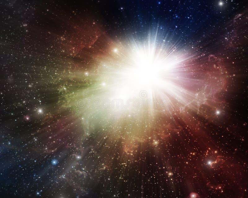 Nebulosas y supernova coloridas libre illustration