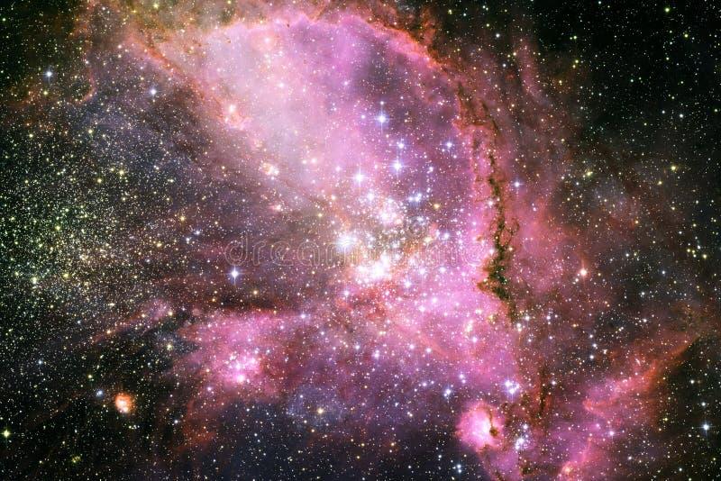 Nebulosor ett interstellärt moln av stjärnadamm royaltyfri fotografi
