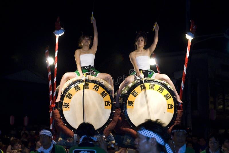 nebuta φεστιβάλ στοκ εικόνες