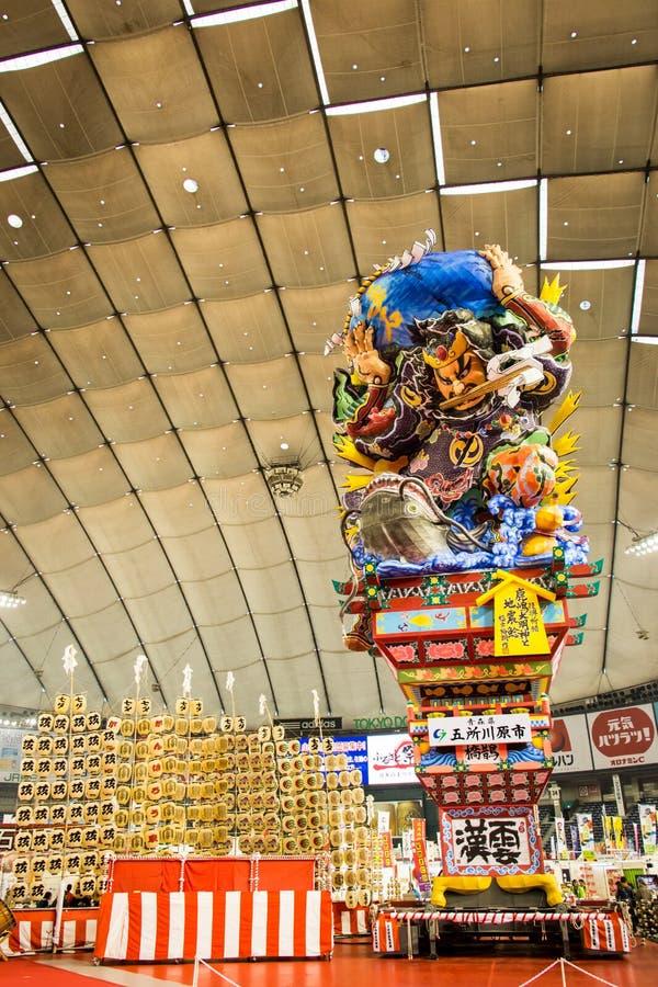 Nebuta Tokyo, Giappone immagini stock libere da diritti