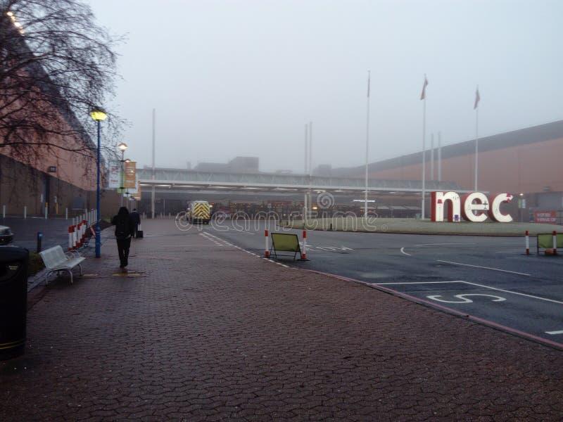 NEC Birmingham royaltyfri fotografi