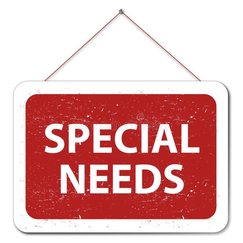 Necesidades especiales libre illustration