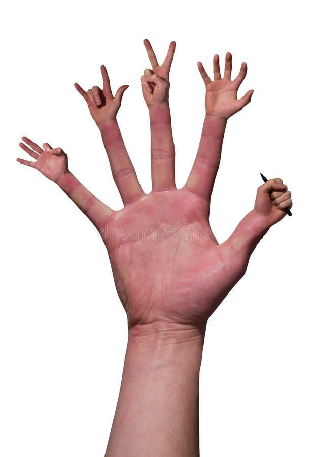 ¿Necesite una mano? fotografía de archivo libre de regalías