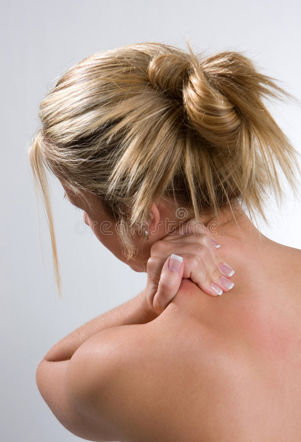 Download Neck And Back Pain stock photo. Image of care, aching - 8341440