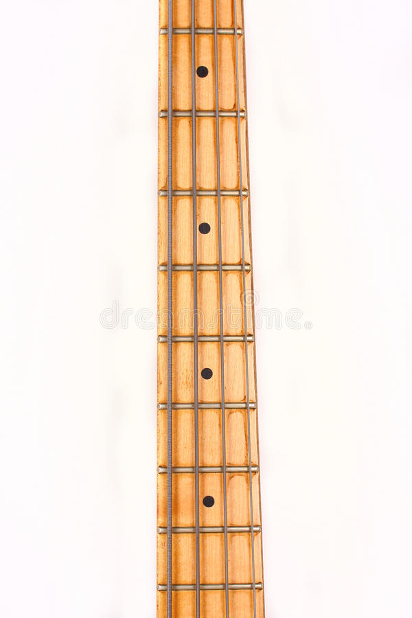 Download Neck of bass guitar stock photo. Image of guitar, bass - 25084454