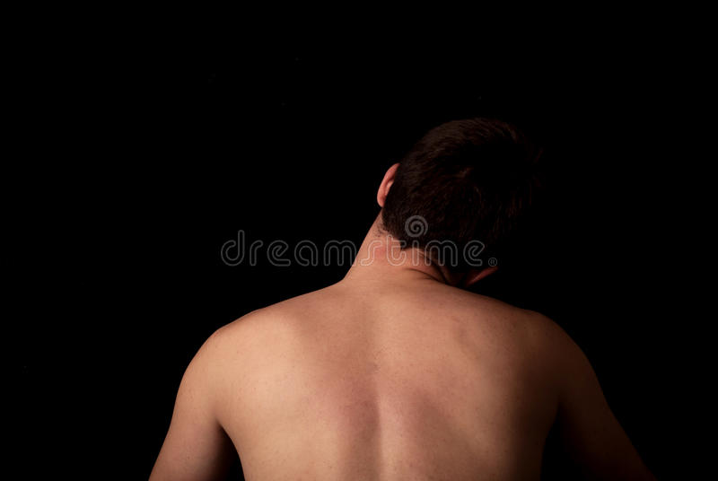Neck exercise royalty free stock images