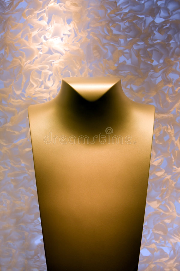 Neck form for Jewelry royalty free stock photos