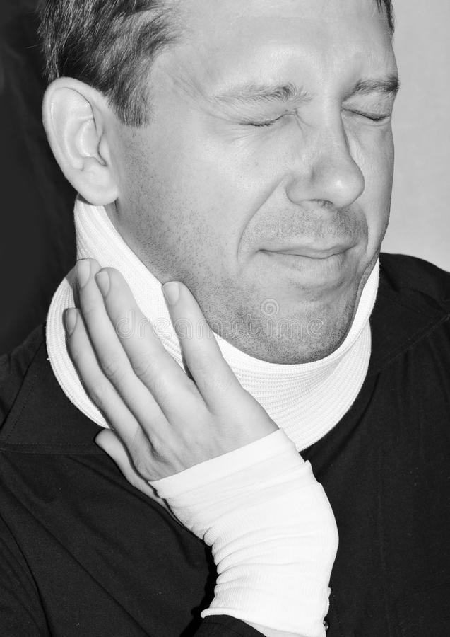 Download Neck injury stock photo. Image of healthcare, support - 20046626