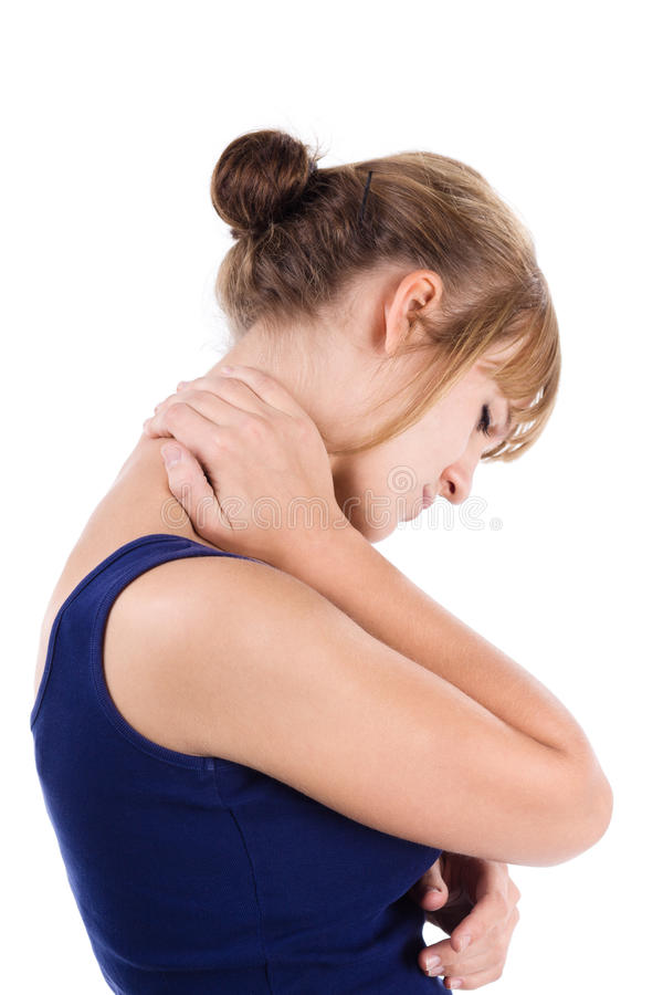 Free Neck Pain Royalty Free Stock Photography - 16225137