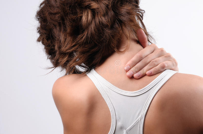 Download Neck pain stock image. Image of fitness, chiropractor - 17170047