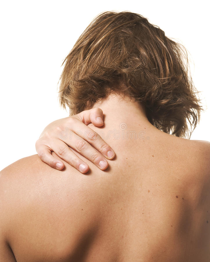 Download Neck pain stock image. Image of backache, muscle, healthcare - 19885127