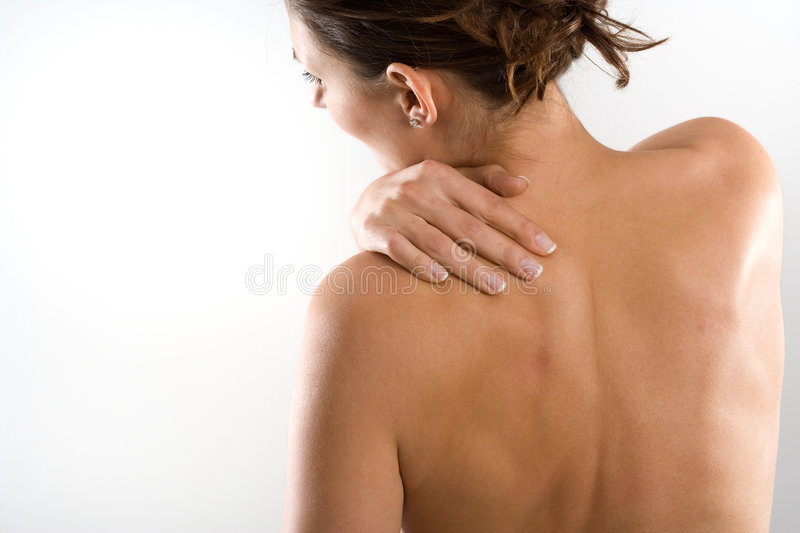 Download Neck pain stock image. Image of female, body, muscular - 5155685
