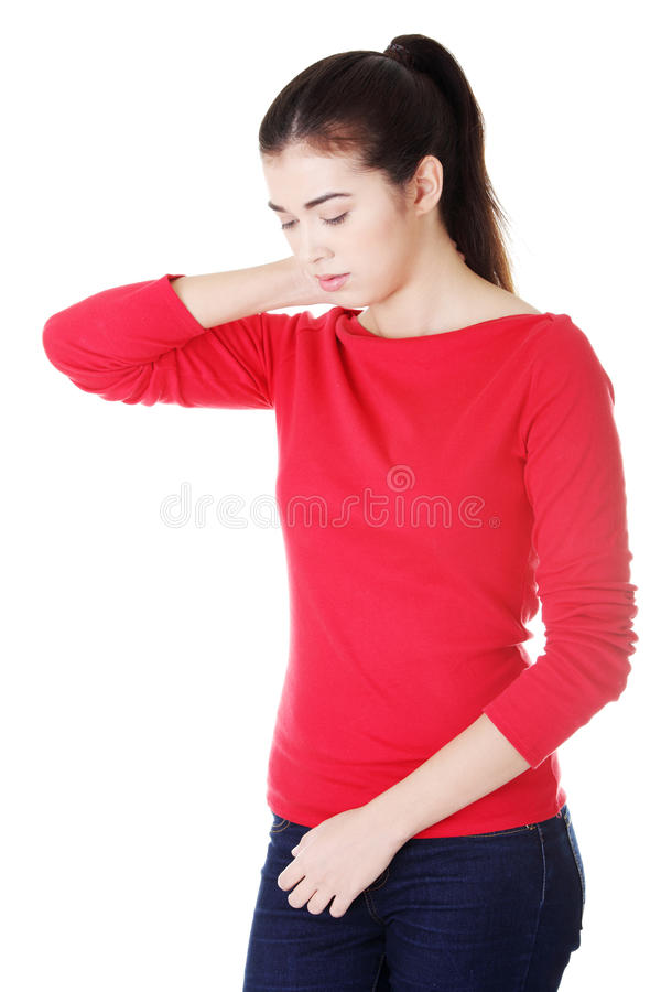 Download Neck pain concept stock image. Image of background, muscle - 27042791