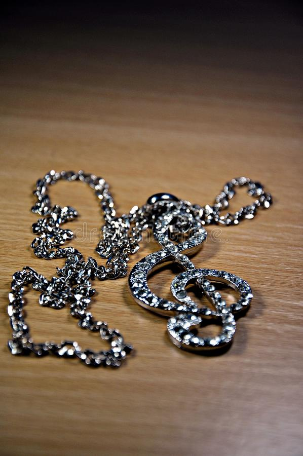Download Necklace. stock image. Image of girl, chain, flower, brilliant - 22859025