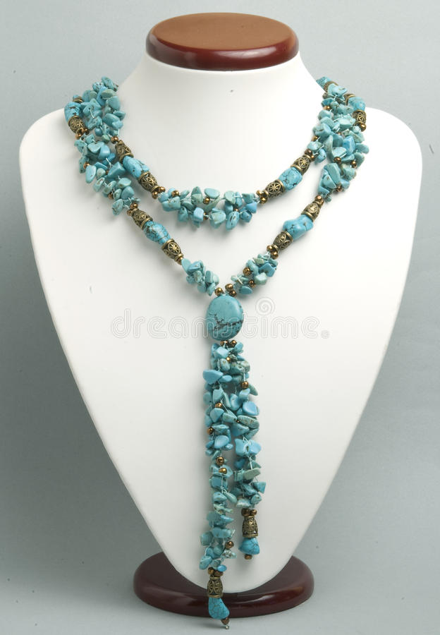 Download Necklace With Turquoise Royalty Free Stock Photo - Image: 16990805