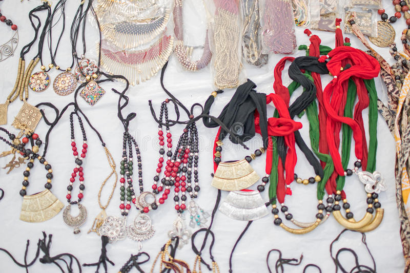 Download Necklaces, Handicraft Items On Display , Kolkata Stock Photo - Image: 83703512